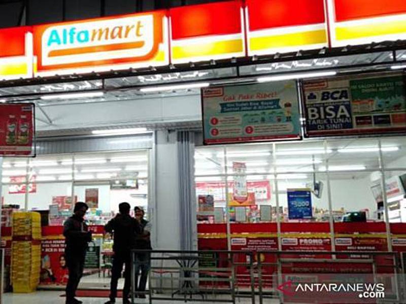 Alfamart. Foto: Antara