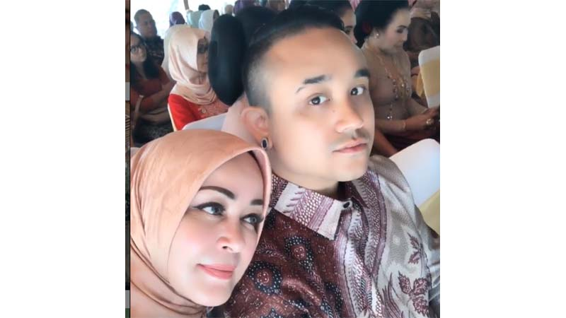 Chintami Atmanagara dan Alif (foto: SC IG @chintamiatmanagara)