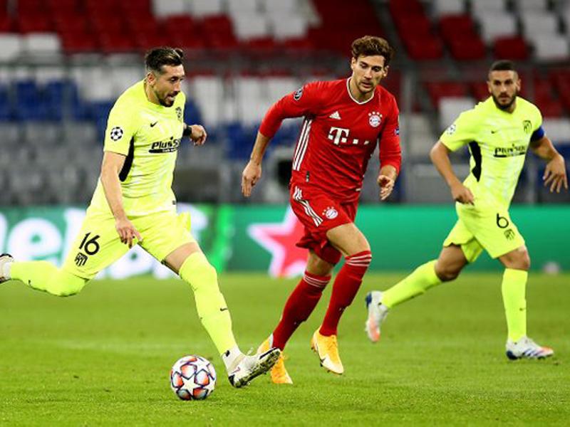 Atletico Madrid benar-benar tampil amburadul saat menghadapi Bayern Muenchen pada laga perdana Liga Champions 2020-2021. Foto: Twitter/Atleti