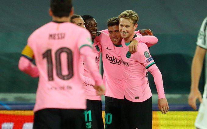 Juventus vs Barcelona 0-2: Brutal, 3 Gol Dianulir, 1 Kartu Merah
