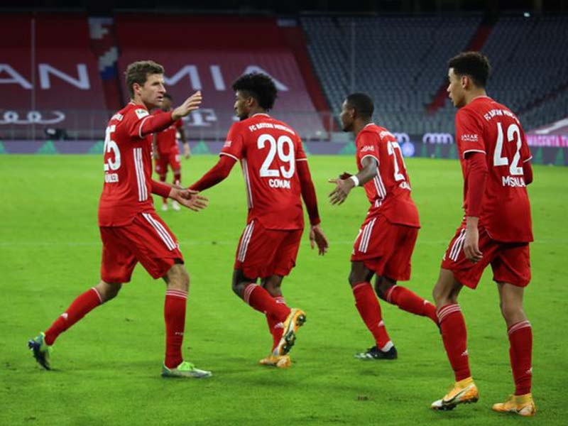 Bayern Muenchen. Foto: Twitter/FCBayernEn