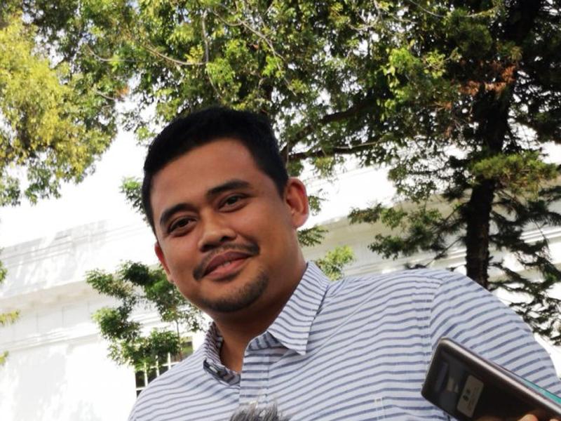 Bobby Nasution. Foto: Agus Salim/Antara