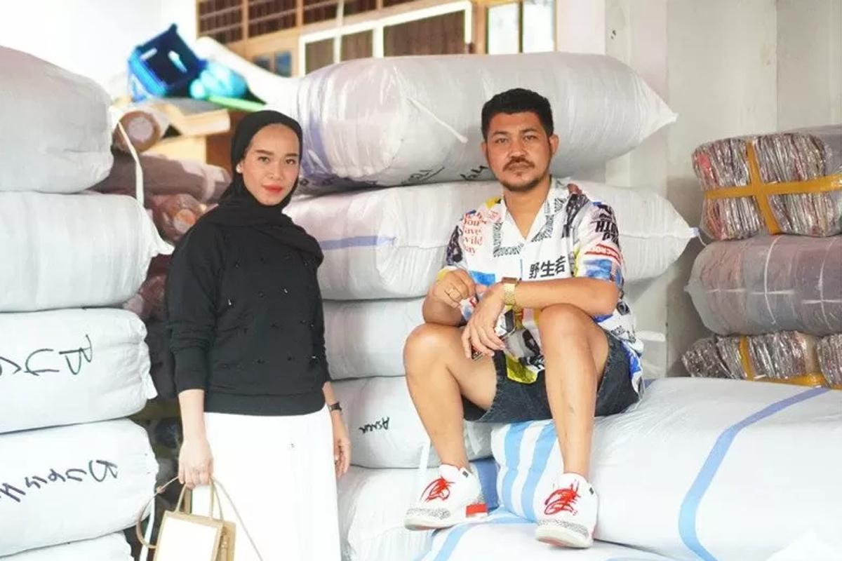 Chika Ariska dan Arwin Burhan. Foto: Antara/HO