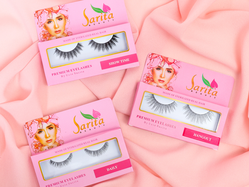 Eyelashes Sarita Beauty Varian Show Time Bikin Mata Makin Cantik