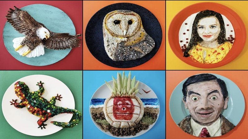 Kreasi Food Art Jolanda Stokkermans (foto: SC IG @demealprepper)