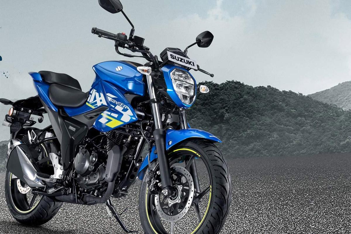 Suzuki Gixxer. Foto: Suzukimotorcycle