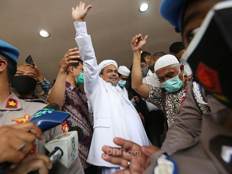 Habib Rizieq Shihab. Foto: Ricardo/JPNN.com/GenPI.co