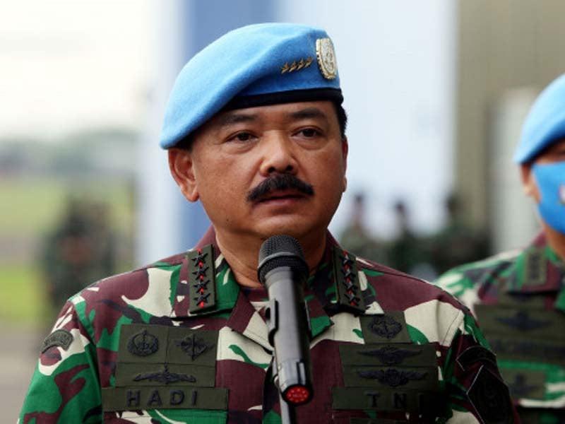 Panglima TNI Hadi Tjahjanto. Foto: Ricardo/JPNN.com/GenPI.co