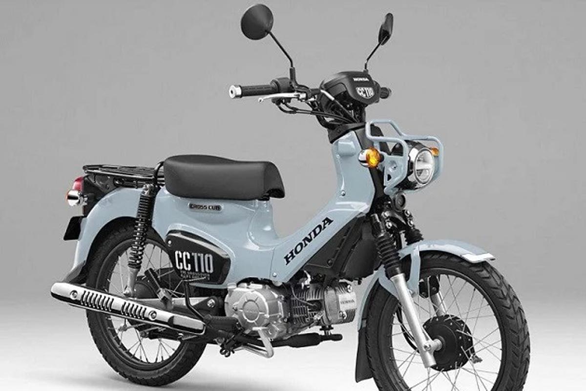 Honda Puko Blue CC 110. Foto: Ride Apart