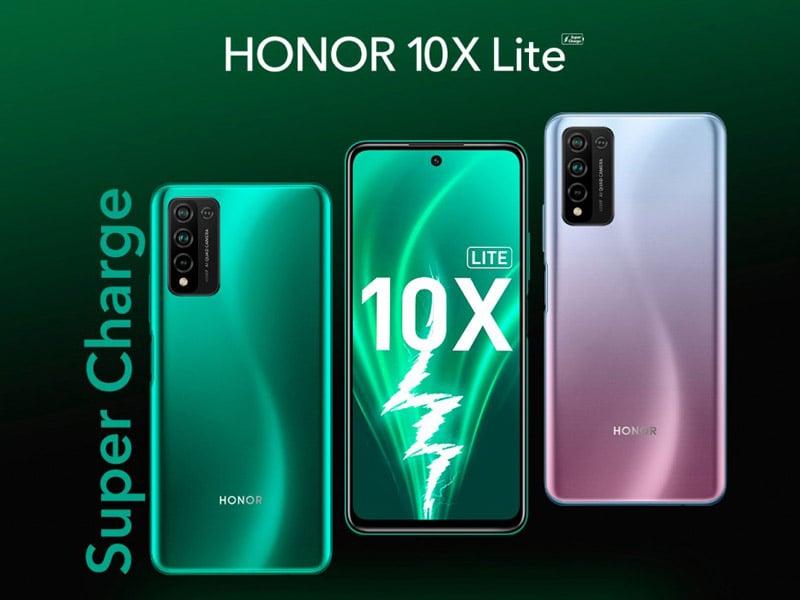 Honor 10x Lite. Foto: GSM Arena