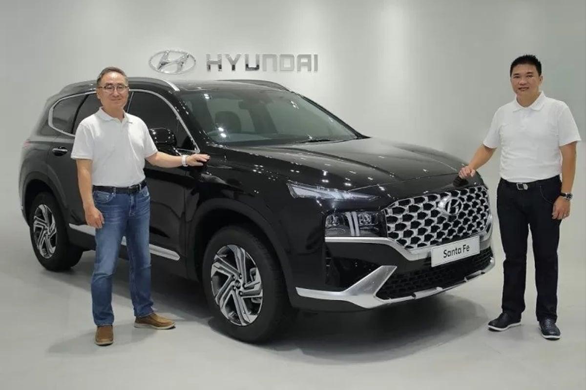 Hyundai New Santa Fe. Foto: Antara/HO