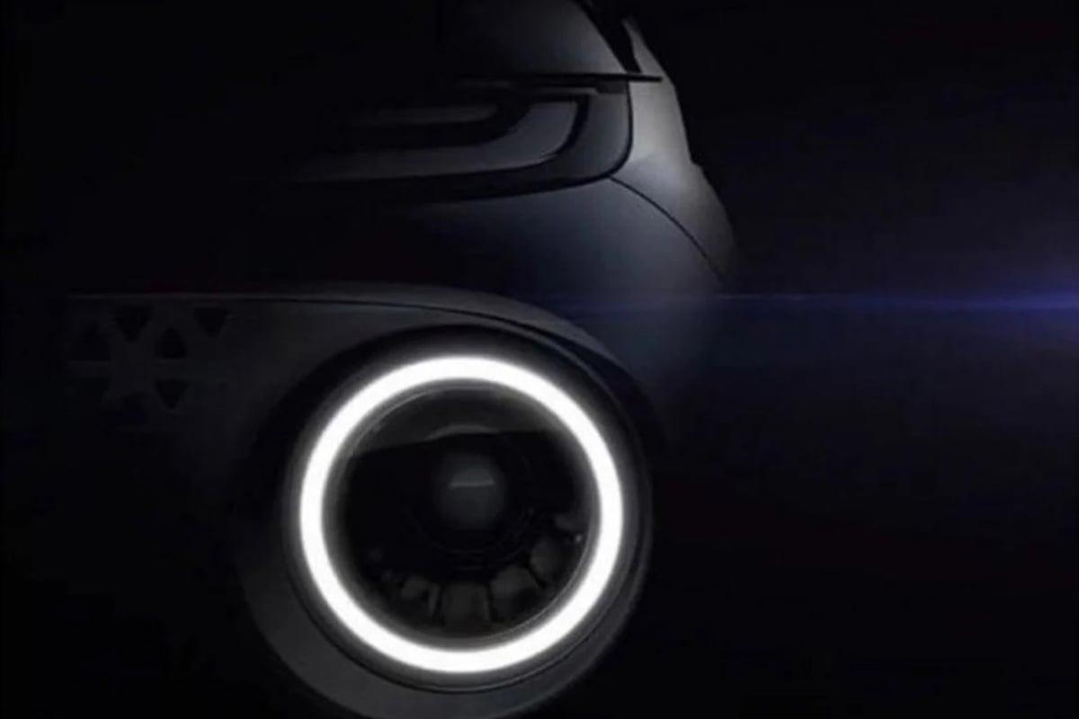 Gambar teaser Hyundai AX1. Foto: Hyundai