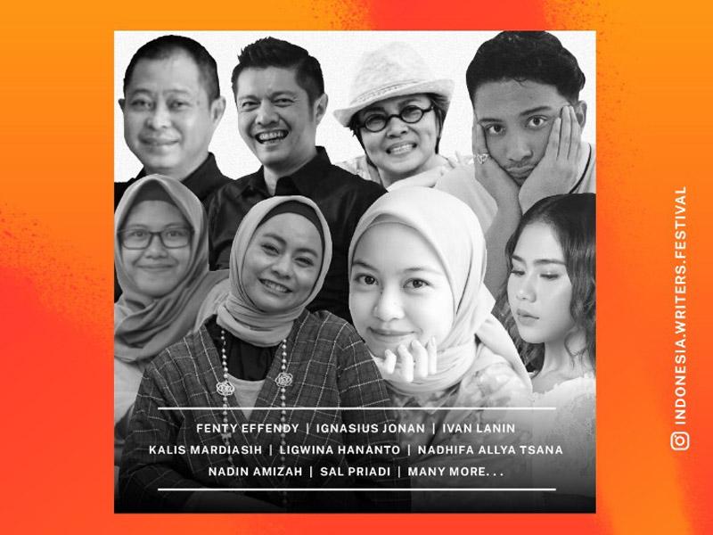 Para pembicara Indonesia Writers Festival 2020. Foto: IWF 2020