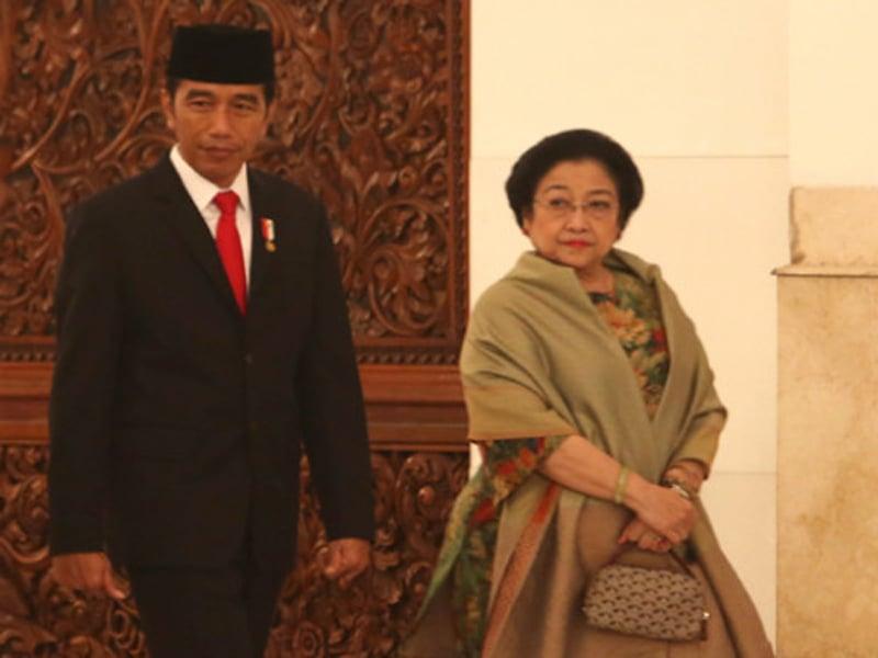 Presiden Jokowi dan Megawati Soekarnoputri. Foto: Ricardo/JPNN.com/GenPI.co