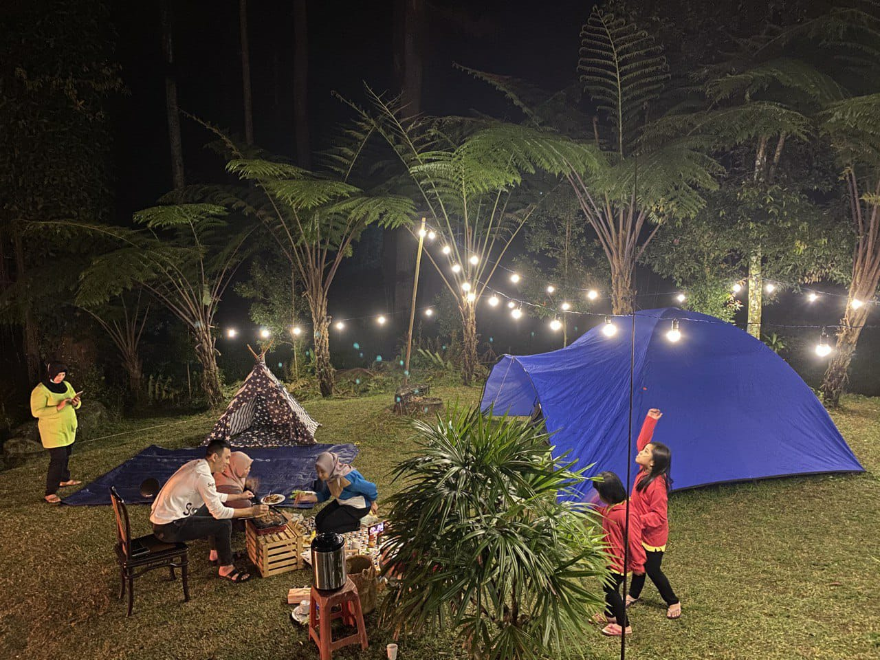 Camping di Wana Wisata Baturraden. Foto: Palawi