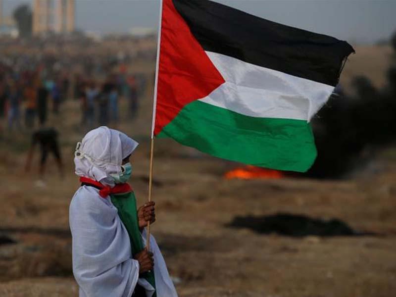 Ilustrasi warga Palestina. Foto: Mohammed Salem/Reuters