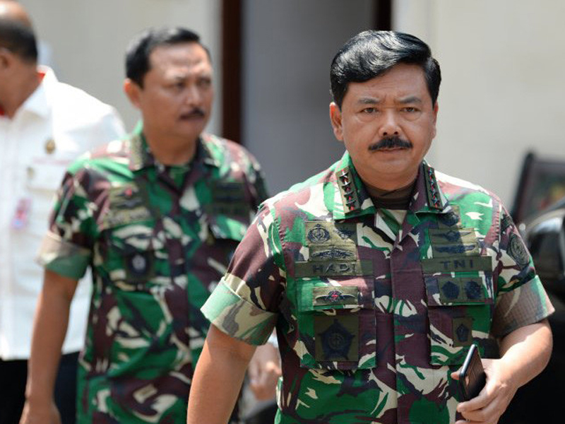 Panglima TNI Marsekal Hadi Tjahjanto. Foto: M Risyal/ANTARA