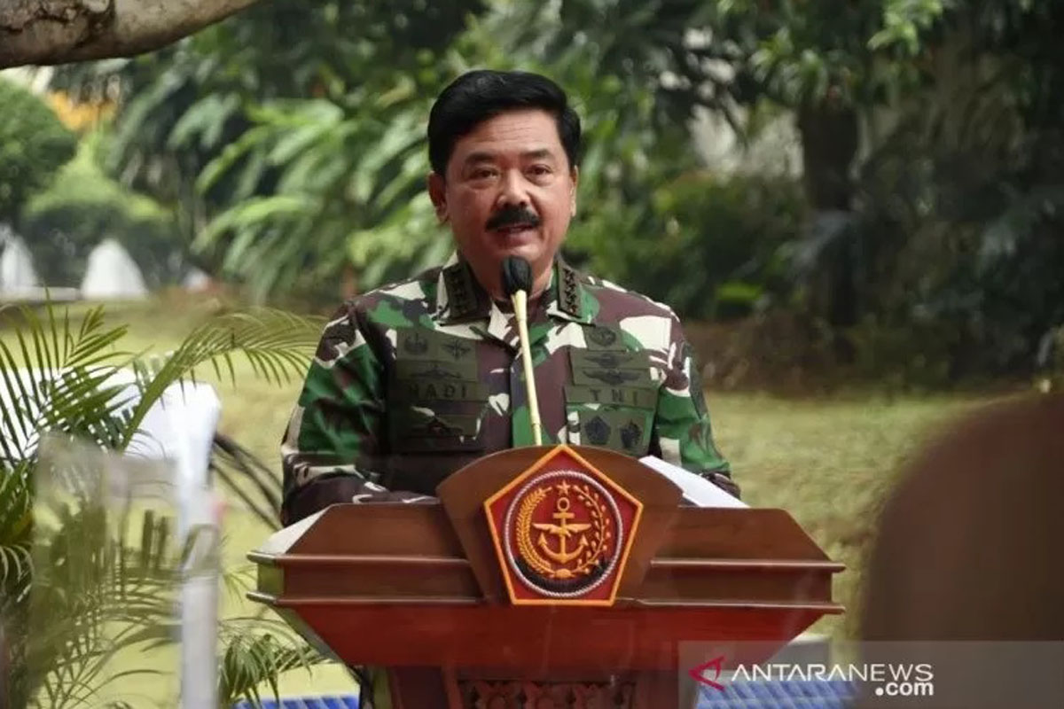 Panglima TNI Hadi Tjahjanto. Foto: Puspen TNI/Antara