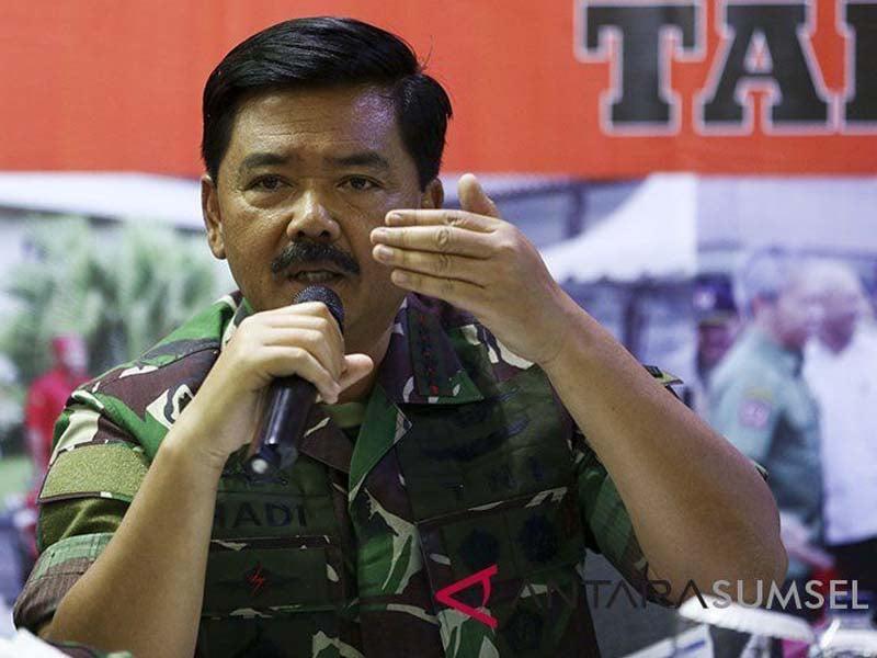 Panglima TNI Hadi Tjahjanto. Foto: Nova Wahyudi/Antara