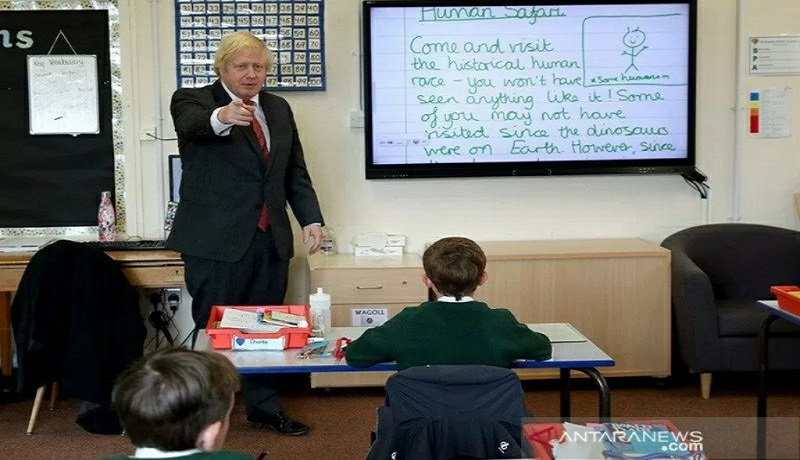 Perdana Menteri Boris Johnson. Foto: Antara