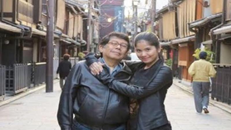 Annisa Pohan bersama ayahnya (foto: SC IG @annisayudhoyono)