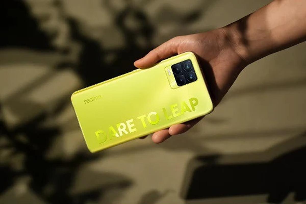 Realme 8 Pro Illuminating Yellow. Foto: dok Realme