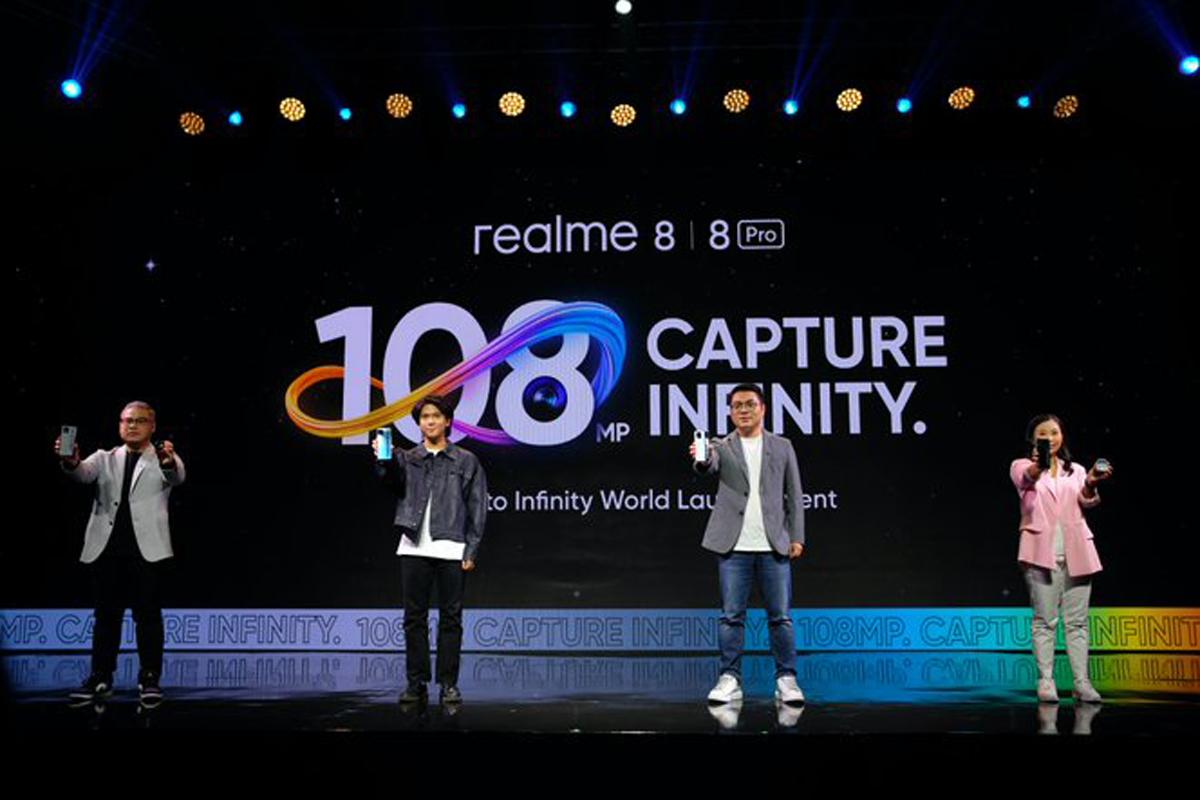 Realme 8 Pro. Foto: Twitter/Realme Indonesia