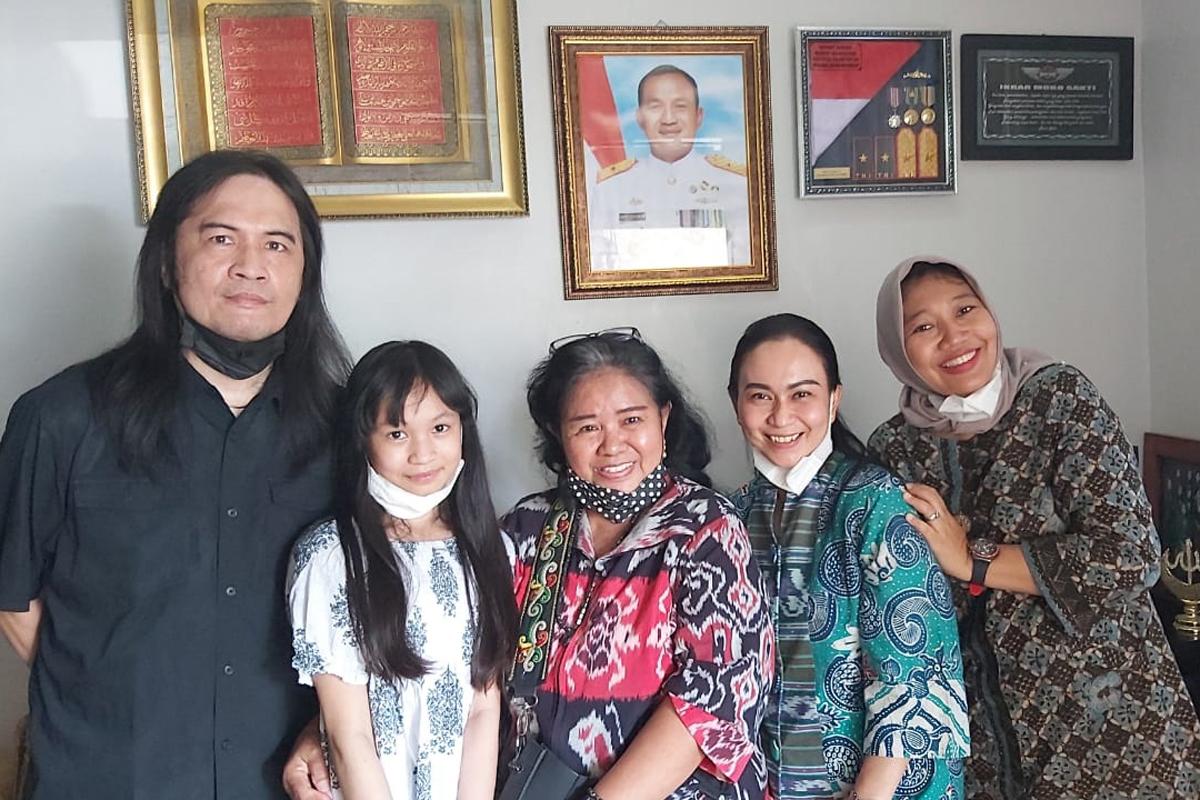 Lihat Foto Komandan Nanggala 402, Royke: Gagah dan Berwibawa