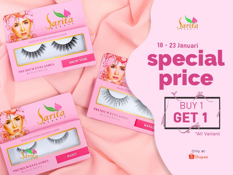 Promo Sarita Beauty. Foto: Sarita Beauty