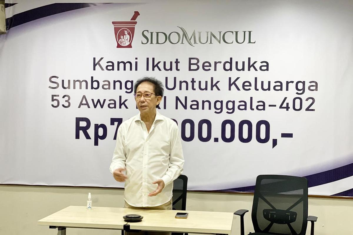 Direktur Sido Muncul Irwan Hidayat. Foto: Pulina/GenPI.co