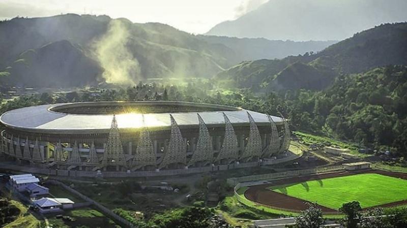 Stadion Papua Bangkit: (foto: IG @stadionpapuabangkit)