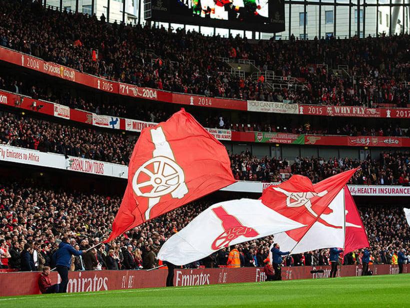 Suporter Arsenal. Foto: Arsenal