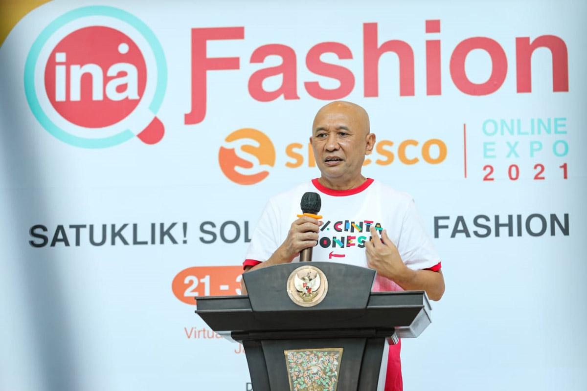 Pak Teten: Pameran Virtual Dongkrak Penjualan Produk UMKM Fesyen