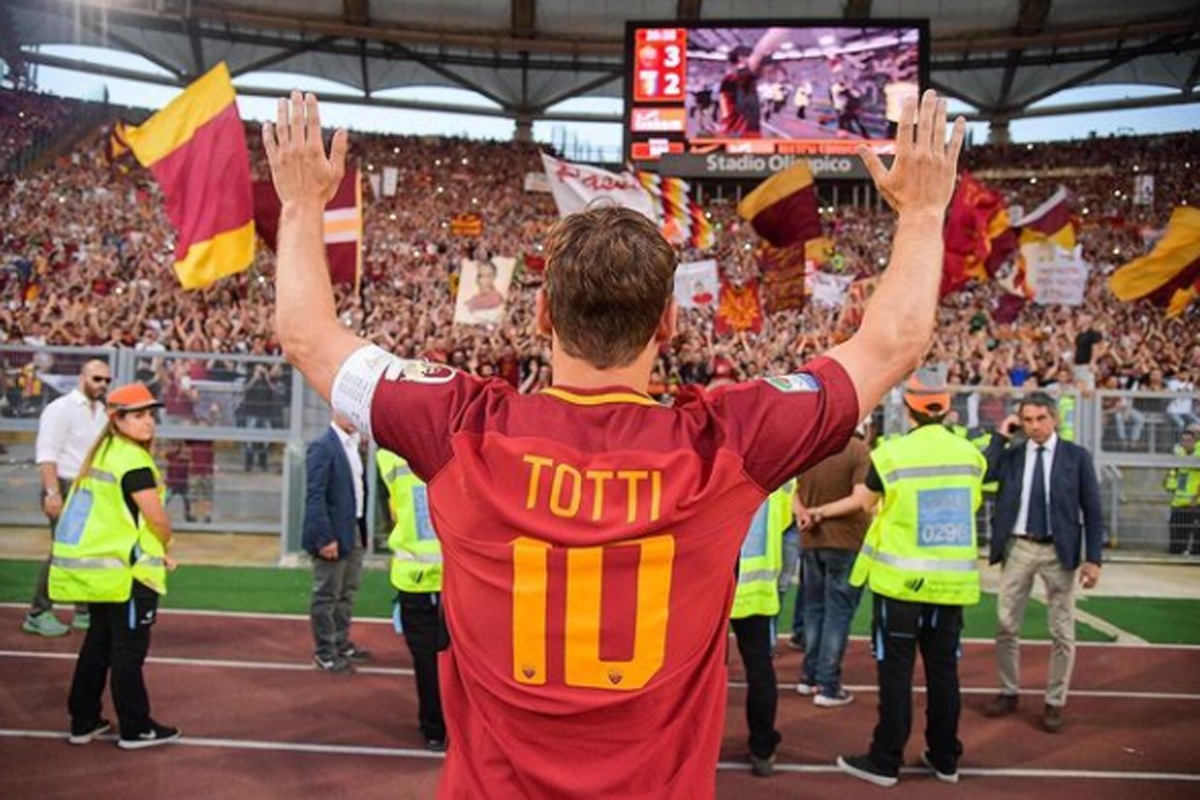 Francesco Totti. Foto: Instagram/francescototti