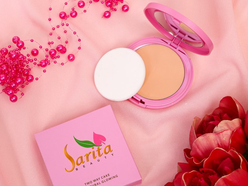 Wajah Dijamin Glowing dengan Two Way Cake Sarita Beauty