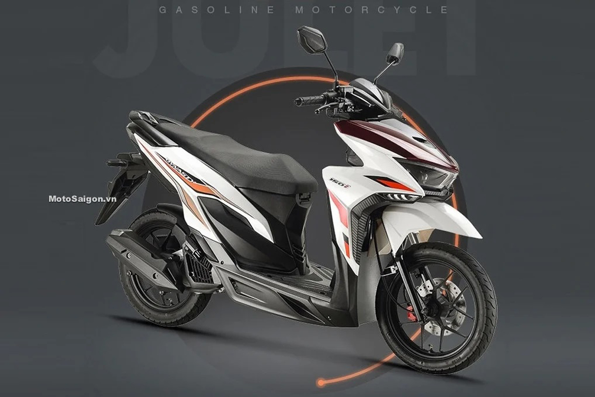 Dynasty 150i yang memiliki desain mirip Honda Vario 150. Foto: Motosaigon