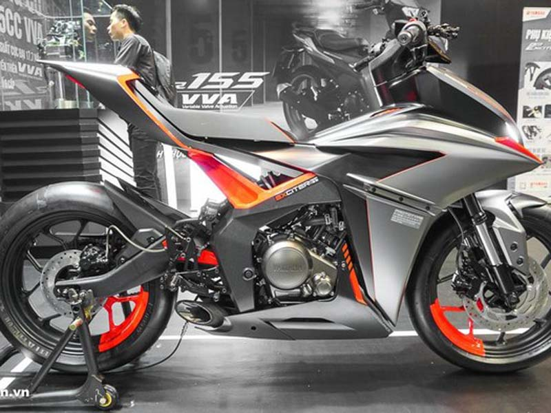 Yamaha F155. Foto: Motosaigon