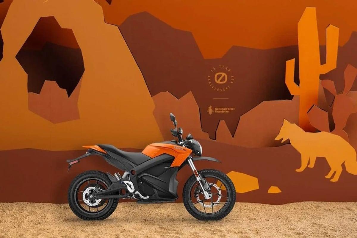 Zero DSR bertema alam. Foto: Zero Motorcycle