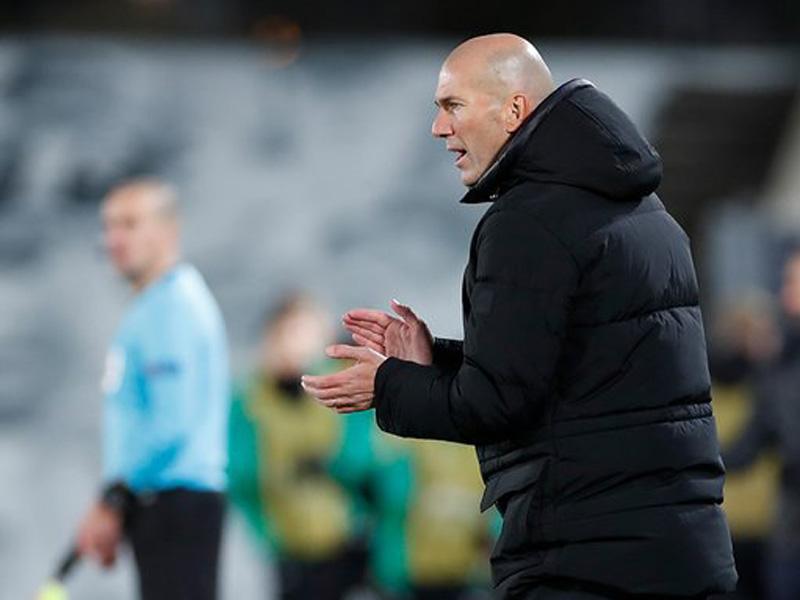 Zinedine Zidane. Foto: Twitter/Realmadrid