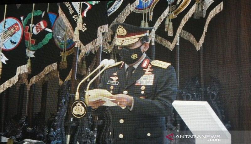 Mendadak, Jenderal Idham Azis Minta Maaf kepada Anak Buahnya