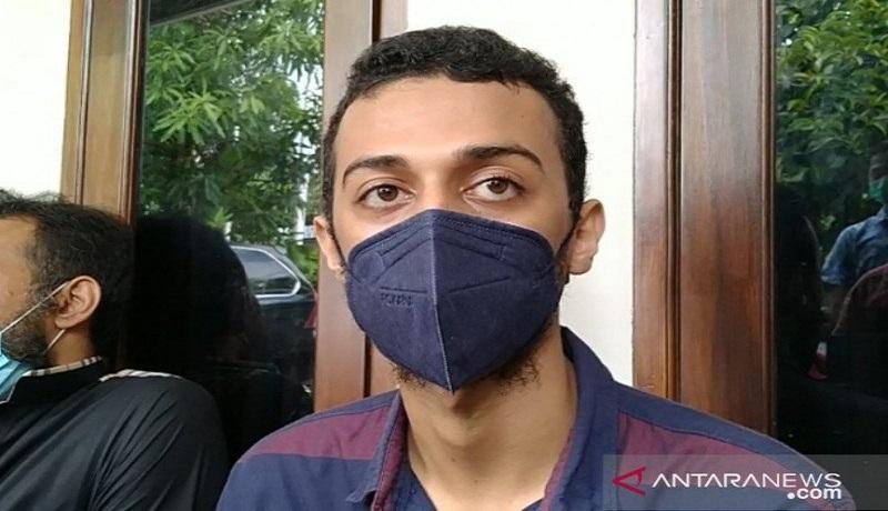 Putra Syekh Ali Jaber, Al Hasan Ali Jaber. FOTO: Antara