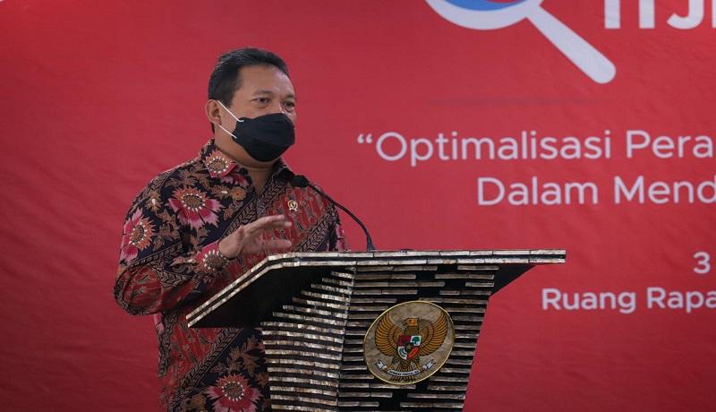 Menteri Kelautan dan Perikanan Sakti Wahyu Trenggono. (dok KP)