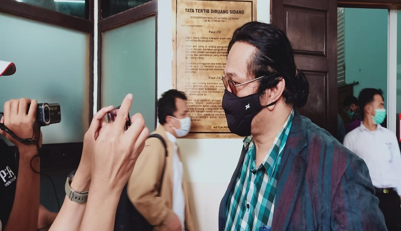 Kuasa hukum penggugat, JJ Amstrong Sembiring. FOTO: GenPI