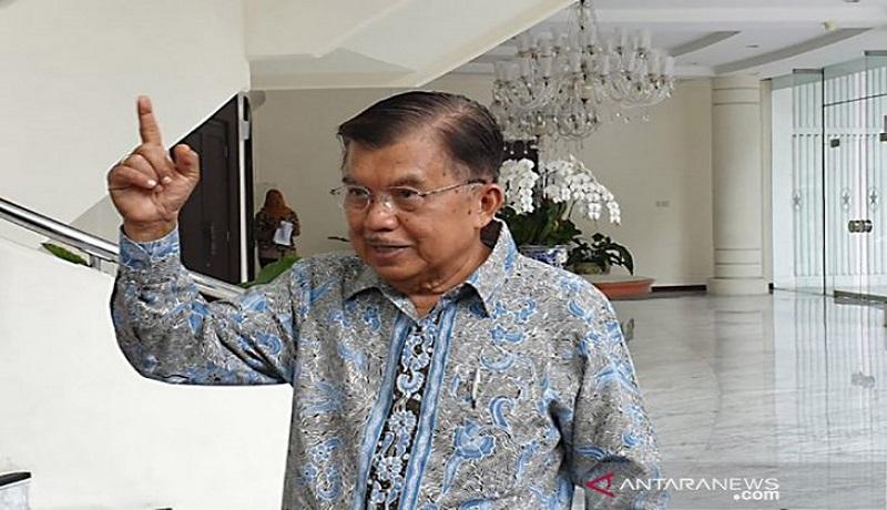 Mantan Wapres Jusuf Kalla (JK). FOTO: Antara