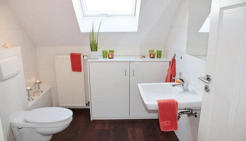 Ilustrasi kamar mandi. (Pixabay)