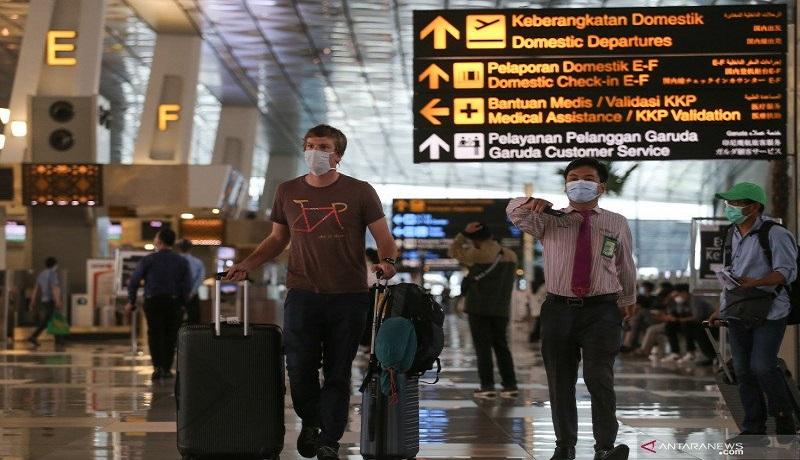 Indonesia Lockdown, 153 WN China Lolos di Bandara Soetta