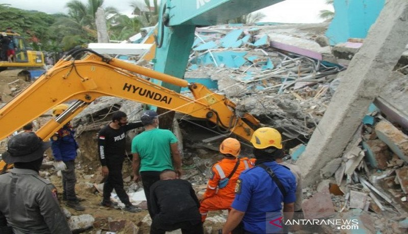 Update Gempa Sulbar: Korban Meninggal Bertambah 42 Orang