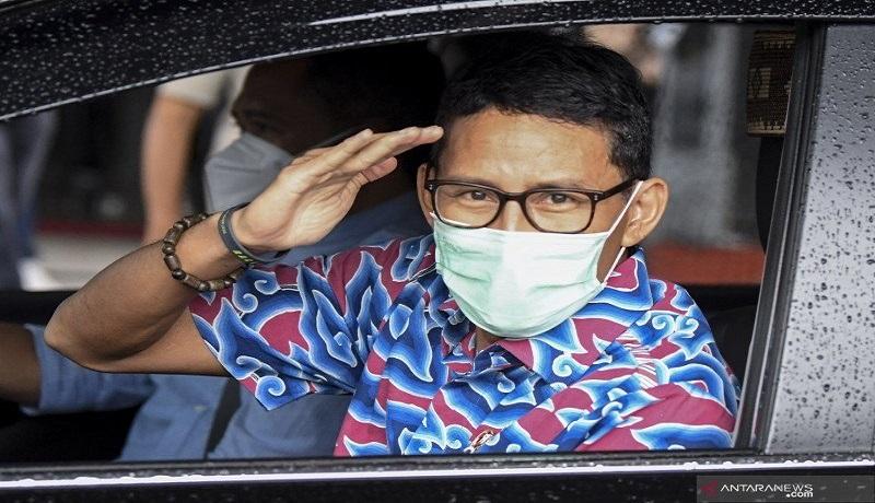 Menteri Pariwisata dan Ekonomi Kreatif Sandiaga Uno. FOTO: Antara