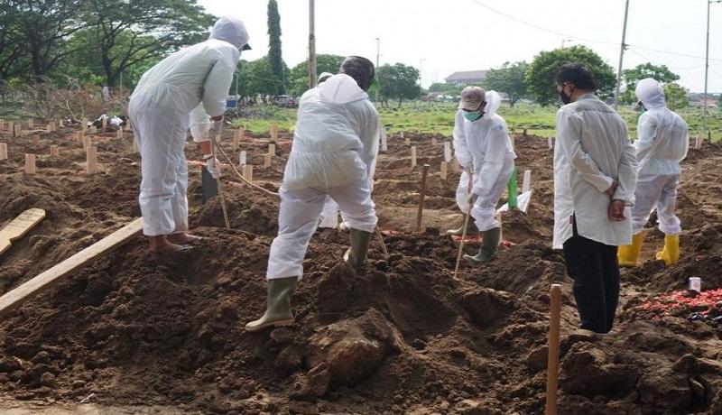 Jakarta Krisis Pemakaman, TPU Tidak Terima Jenazah Covid-19