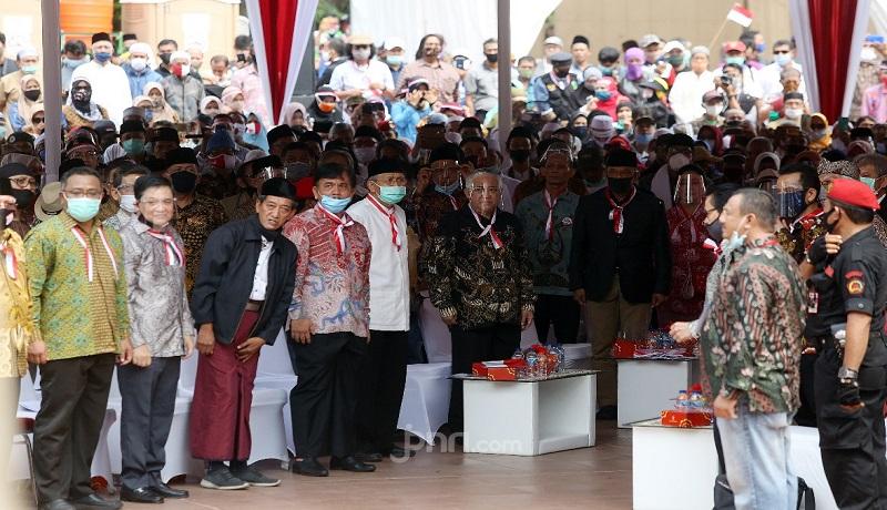 Deklarasi KAMI di Tugu Proklamasi, Jakarta. Foto: Fathan/JPNN